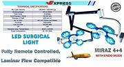 Miraz 4+ 4 Endo Mode Examination And Surgical Light Operation Theater Led Ot Lamp