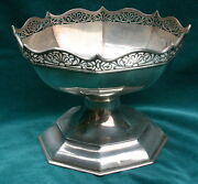 Roberts And Belk 1909 Sterling Silver English Center Bowl Magnificent
