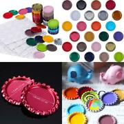 Flat Crown Double Sided Flattened Bottle Caps For Hair Bow Craft Pendant 200 Pcs
