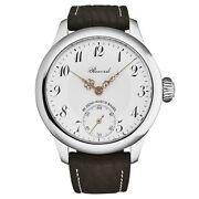 Zeno Menand039s Record Limited Edition Pocket Watch On The Wrist White Dial 1460-s2