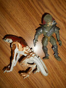 Vintage 1993 Fox Kenner Panther Aliens And Predator Scavage Action Figures