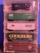 N Scale Micro Trains Conrail Merger Of 1976 5 Pack 78052
