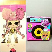 Lol Doll Surprise Alto Hair Flip Goals Glee Club Ball Sealed Unopened Pink