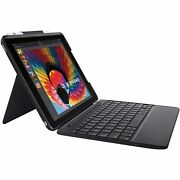 Slim Combo Case With Detachable Backlit Bluetooth Keyboard For Ipad 5t