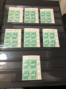 Israel 1961-62 Zodiac Issue Complete Set Of All 124 Plate Blocks Mnh