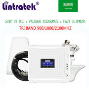 Tri Band Signal Booster Phone Network Repeater 900/1800/2100mhz Data Voice Sa