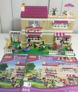 Lego 3315 Friends Olivia's House Retired 100 Complete Repackaged