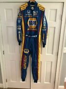 Alexander Rossihand Signedrace Used/worn Drivers Suit 2017 Sonoma Indy Race.