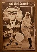May 25, 1922 Babe Ruth Mid-week Pictorial Yankees The New York Times Magazine