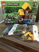 Lego Minecraft The Farm Cottage 21144 100 Complete With Box And Manual