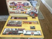 Bachmann Emmett Kelly Jr Circus Train Set The Ringmaster 90020 Complete G Scale