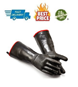 Rapicca Bbq Gloves 14 Inches932heat Resistant-smoker Grill Cooking Barbecue