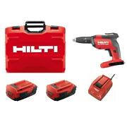 22-volt Cordless Brushless Sd 5000 Drywall Screwdriver Kit With Charger