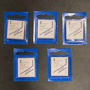 5 Packs Of Showgard Stamp Mounts E 22/25 - Free Usa Shipping - Each Pack Has 40