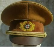 Ww2 German Army General Visor Cap Wool All Sizes Available