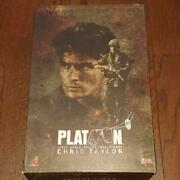 Hot Toys Movie Masterpiece Platoon 1/6 Scale Figure Chris Taylor Military