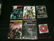 Rare Resident Evil 4 Game And Demo Lot Playstation 2/gamecube Brand New Sealed