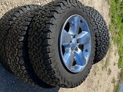 2016 Ram Oem 20andrdquo Wheels And Bf Goodrich Tires Less Than A 1000 Miles On Tires