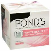40 X Ponds White Beauty Spot Less Fairness Day Cream 23 Gm Pack For Normal Skin