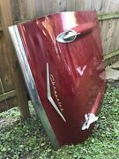 1957 Chevrolet Bel Air Hood Original Chevy Beautiful Cherry Red Local Pickup Ny
