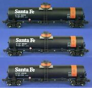 American Limited Ho Scale Gatc Tank Car Atsf Journal Oil Lot Of 3 1815/1816/1817