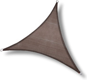 Love Story 12and039 X 12and039 X 12and039 Triangle Brown Sun Shade Sail Canopy Uv Block Awning
