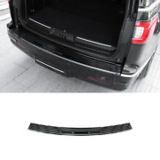 For Lincoln Navigator 2018-21 Black Steel Outer Rear Bumper Protector Guard 1pcs