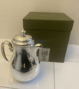 New In Box Never Used Christofle Albi/bagatelle Silver Plate Coffee Pot 4174080