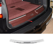 For Lincoln Navigator 2018-2021 Chrome Steel Outer Rear Bumper Protector Guard