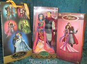 Disney Designer Fairytale Collection Doll Couple Princess Mulan And Shang New