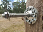 Set Of 4 X Tree House Attachment Plates Bolt - Tab New Construction Option