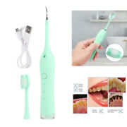 Dental Ultrasonic Scaler Tooth Cleaner Calculus Stain Remove Oral Care Green