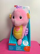 Fisher-price Pink Soothe And Glow Seahorse Ages 0+