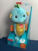 Fisher-price Blue Soothe And Glow Seahorse Ages 0+