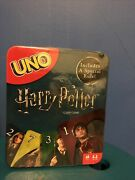Mattel Harry Potter Uno Card Game In Collectible Tin