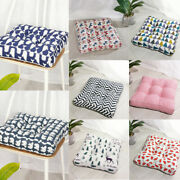 Square Thick Cushions Seat Pads Garden Chair Patio Pad Kitchen Dining Seats Mat