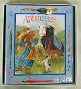 Mint 1990 Extremely Rare Vera The Mouse Address Book - Marjolein Bastin