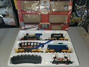 North Pole Christmas Magic Express Animated Musical Train Set Box 1996 Toy State