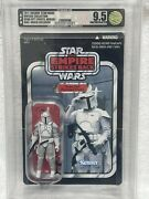 Afa 9.5 Uncirculated Boba Fett Prototype Armor Vc61 Star Wars Vintage Collection