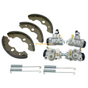 4 X Front Brake Wheel Cylinders With Shoes For Honda Rancher 350 Trx350 2x4 4x4