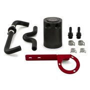 Mishimoto 2017+ Honda Civic Type R Baffled Oil Catch Can Kit - Red