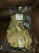 Us Military Army Dessert Tan Camo Molle Ii Fighting Load Carrier Carry Vest New