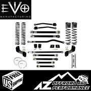 Evo Mfg 4.5 Enforcer Overland Stage 4 Plus For And03920-current Jeep Gladiator Jt