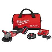 18-volt Cordless 4-1/2 In./6 In. Grinder With Paddle Switch Kit 6.0 Ah Battery