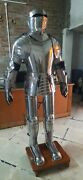 Vintage Wearable Armor Medieval Gothic Vintage Knight Body Of Armour Suit Decor