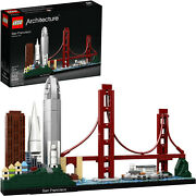 Lego Architecture Skyline Collection 21043 San Francisco Building Kit Includes