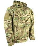 British Army Style Patriot Soft Shell Jacket In Btp Multicam Camo