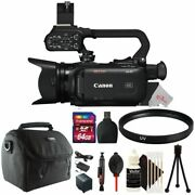 Canon Xa40 Professional Uhd 4k Camcorder Pal With Uv Filter Accessory Kit