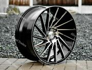 Roues Alliage 19 1av Zx1 Pour Jeep Compass Cherokee Renegade 5x110 Pcd Bp