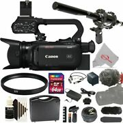 Canon Xa40 Professional Uhd 4k Camcorder Pal With Microphone Kit